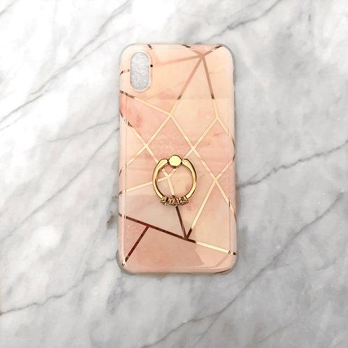 Pink Geometric Phone case Iphone