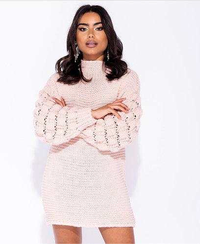 Cesca chunky knit - Pink