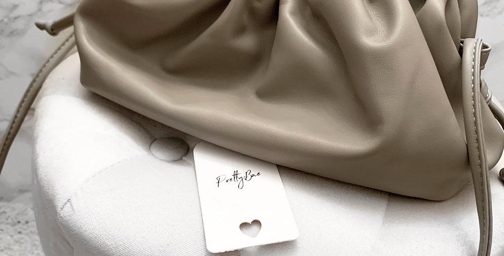 Bologna pouch bag grey