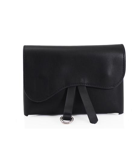 Saddle belt bag black