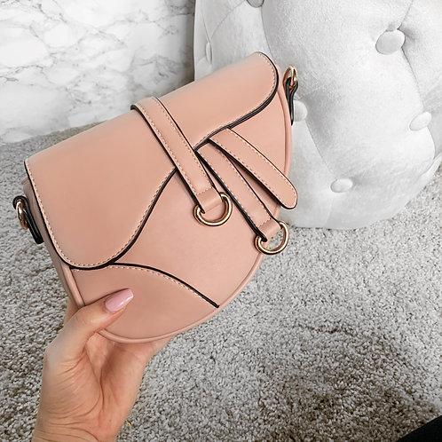 Baby saddle bag pink