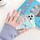 Thumbnail: Geometric blue phone case Iphone