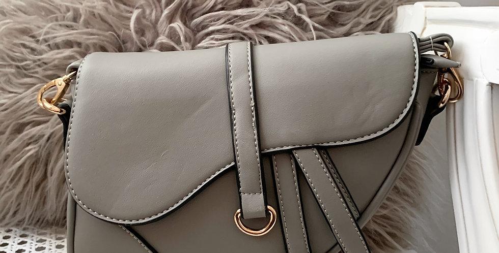 Grey Saddle bag