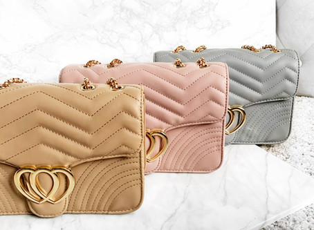 New to our store:  New handbag styles that have just dropped!