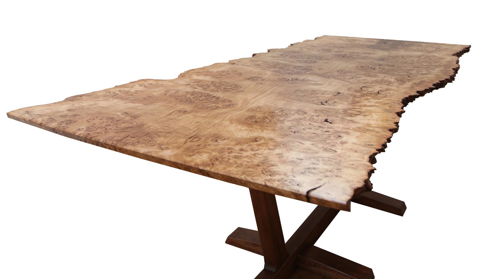 Oak Display Table