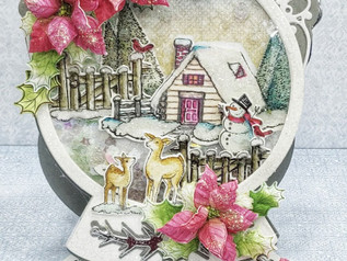 Creative Inspiration with Festive Winterscape collection
