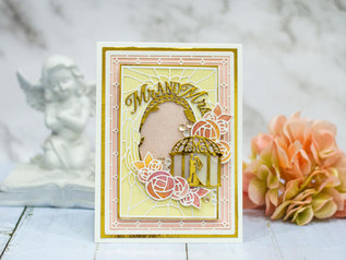 Wedding Card with Amazing Paper Grace