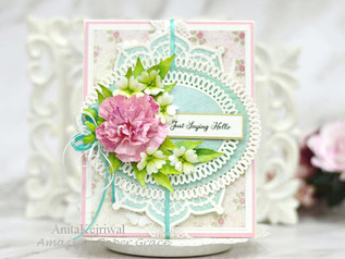 SPECIAL FLORAL CARD WITH AMAZING PAPER GRACE