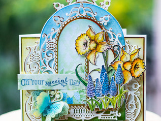Debuting The Delightful Daffodils Collection with Heartfelt Creations