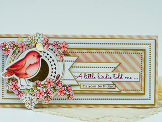 Sweet Cardlets II inspiration from Amazing Paper Grace