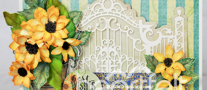 Debuting the Rustic Sunflower Collection by Heartfelt Creations