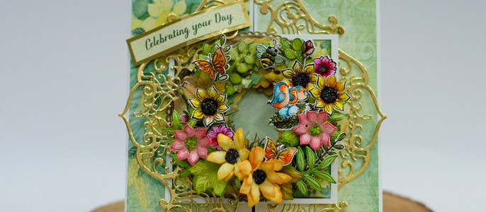 Debuting the Seasonal Wreath collection by Heartfelt Creations