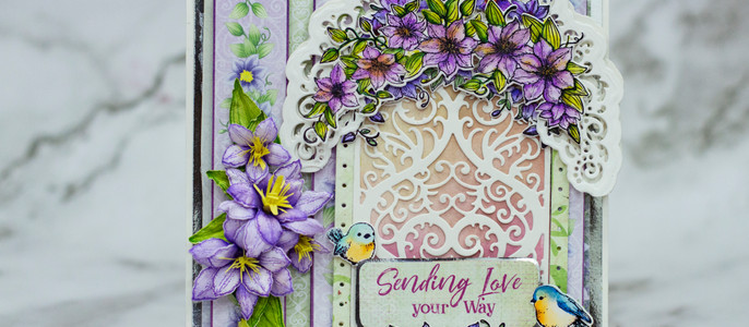New Clematis Inspiration from Heartfelt Creations