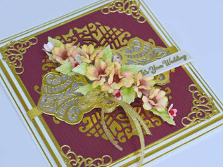 SPECIAL WEDDING CARD WITH AMAZING PAPER GRACE