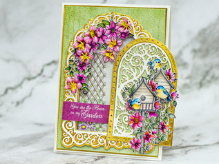 Debuting the Climbing Clematis Collection by Heartfelt Creations