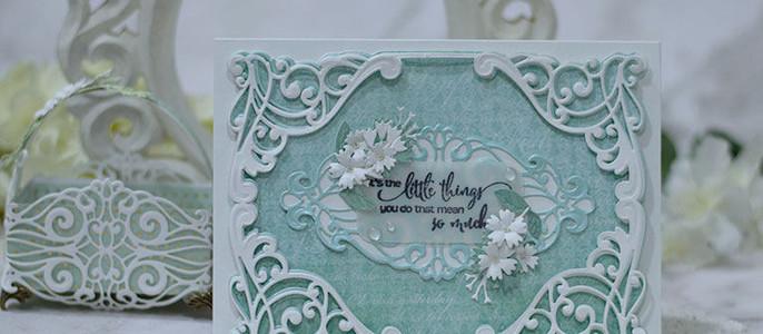 Amazing Paper Grace October Die of the Month Blog Hop – Flourished Fleurit