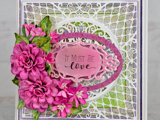 New Zinnia Floral Card By Heartfelt Creations