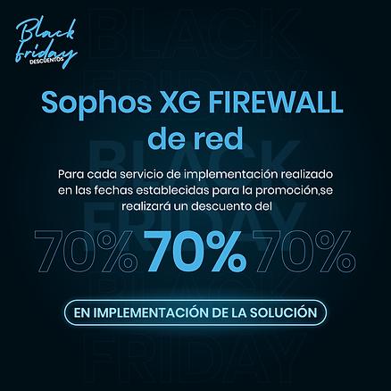 Sophos-XG-FIREWALL--de-red---Black-Frida
