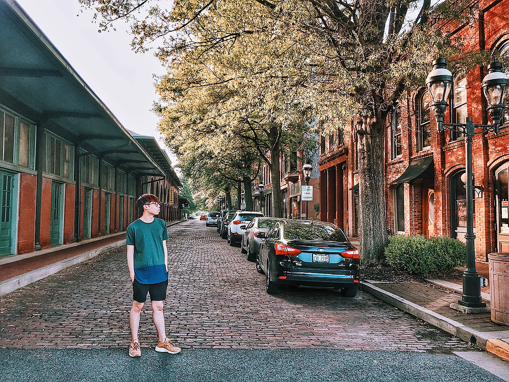 Downtown of Paducah, Kentucky, international students in us blog, alien thoughts