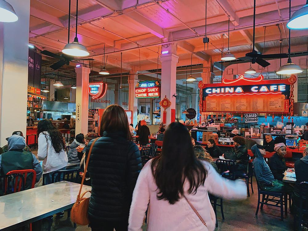 Grand Central Market in Downtown LA
