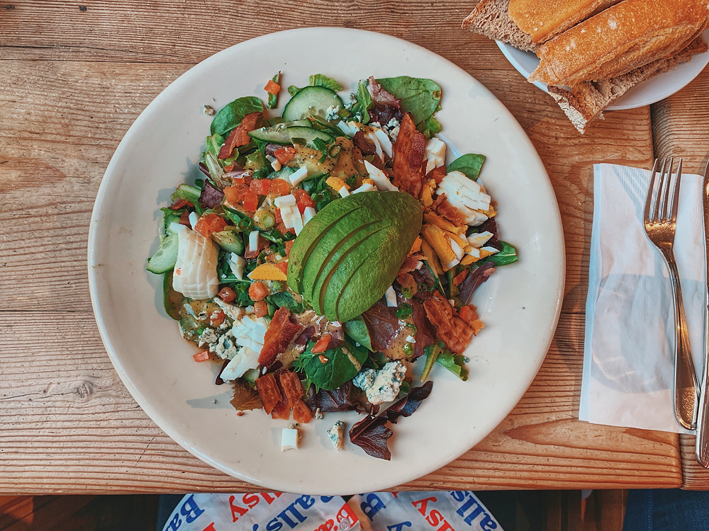 The $18 healthy salad