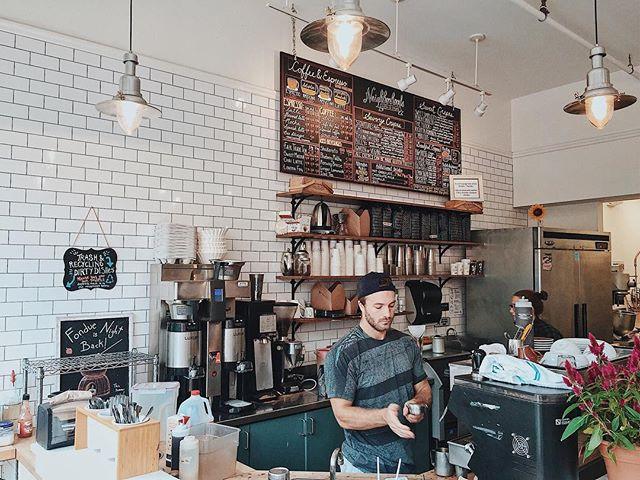 Boston cafe interior