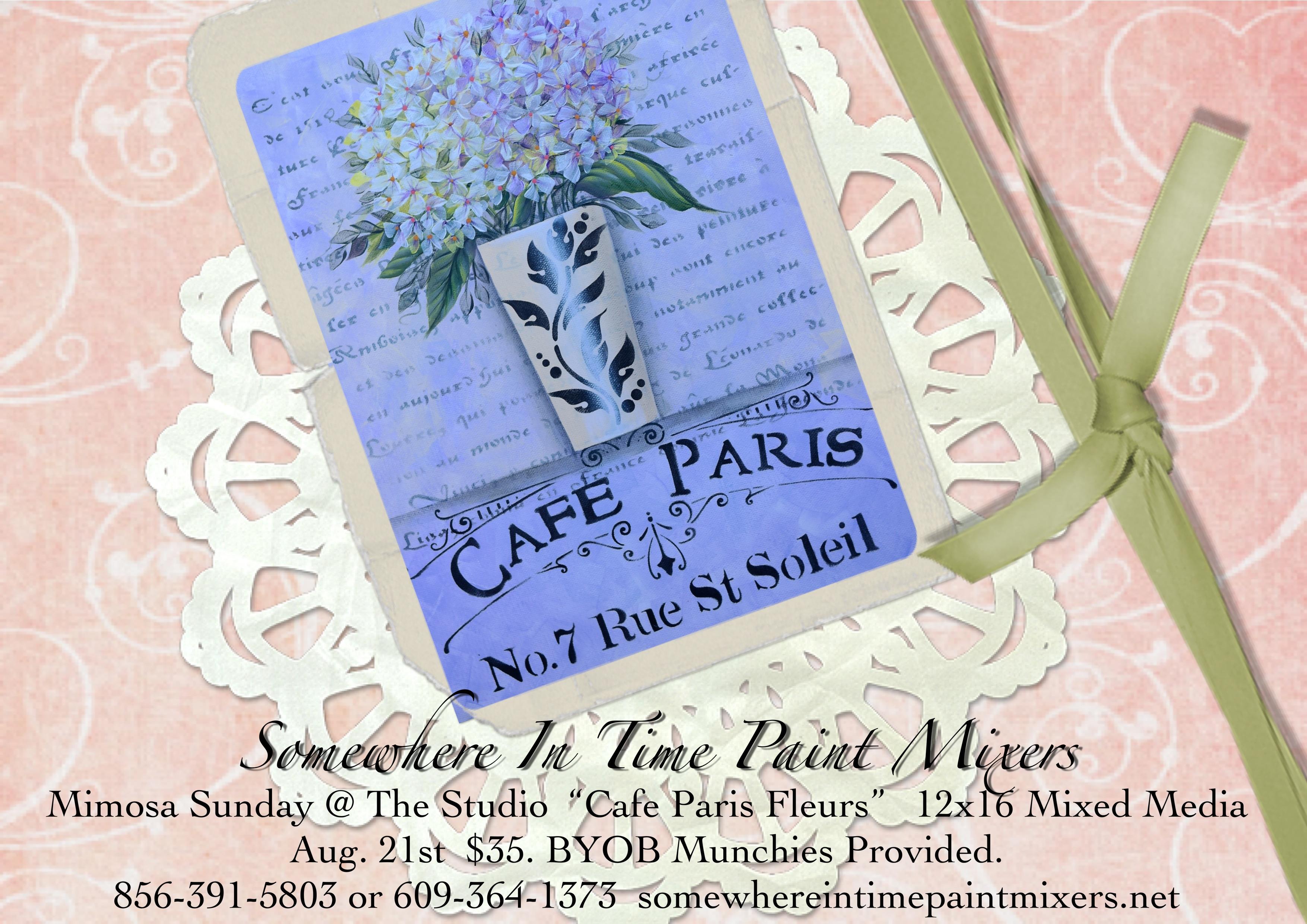 Cafe Paris Fleurs