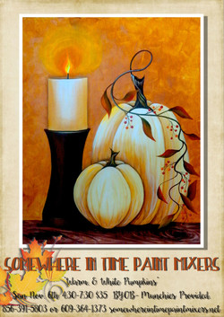 Warm White Pumpkins