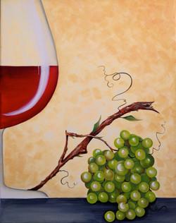 """Grapes on the Vine & Wine"""