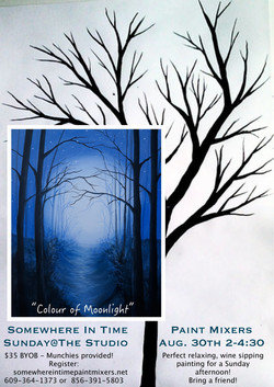 Colour of Moonlight