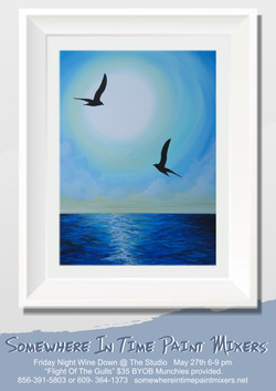 Flight of the Gulls