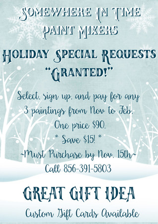 Holiday Special Requests: GRANTED! <3