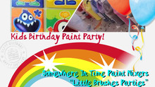 """Little Brushes Parties!"""