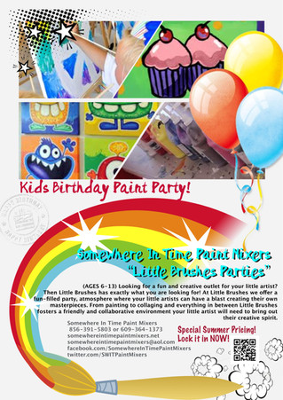 """""""Little Brushes Parties!"""""""