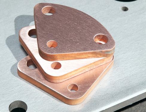 Laser Cut Copper