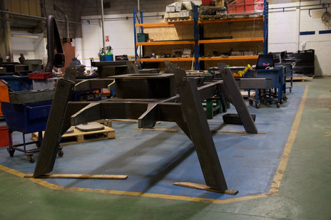 Large Fabricated Parts