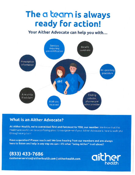 Aither Advoate Flyer