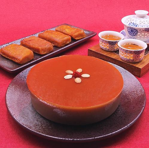 椰汁年糕 Chinese New Pudding with Coconut Milk