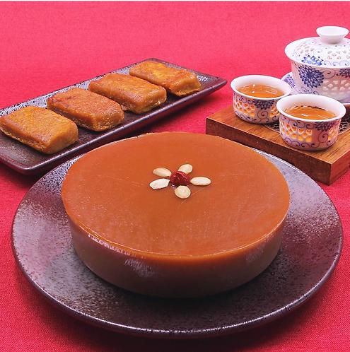 薑汁年糕 Chinese New Year Pudding with Ginger Juice