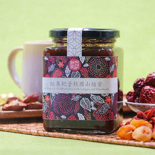 紅棗杞子桂圓山楂蜜 Red Dates & Wolfberry Tea with Longan and Hawthorn