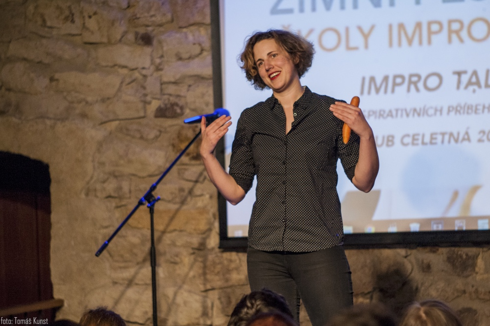 IMPRO TALKS - VERONIKA BENEŠOVÁ