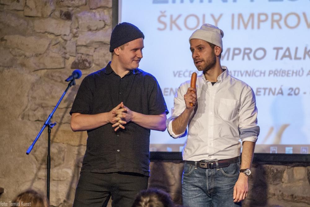 IMPRO TALKS - VENCLÍK & CHARVÁT