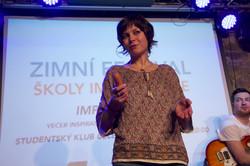 IMPRO TALKS - MARTINA ŠVARCOVÁ
