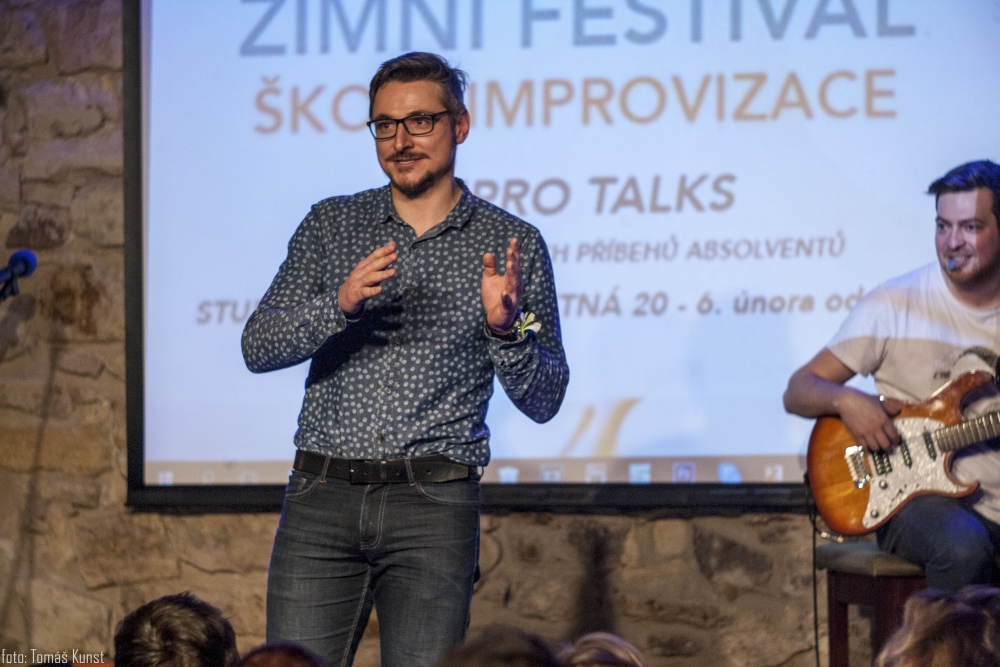 IMPRO TALKS - PETR MAŠKA
