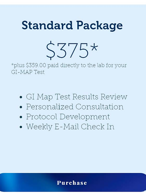 Standard GI Map Test Package