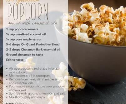 Easy Popcorn Recipes!
