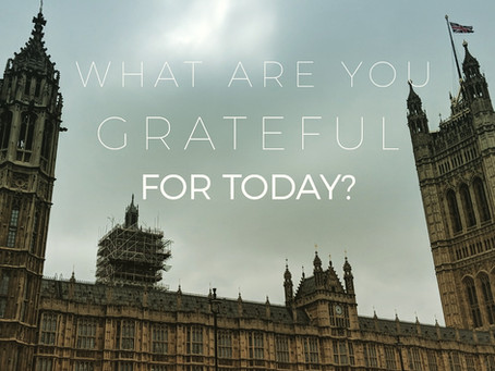 Grateful?  Does it matter?