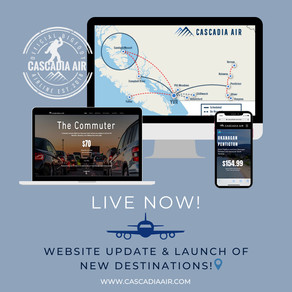 New Website Updates and Destinations going live in a week!