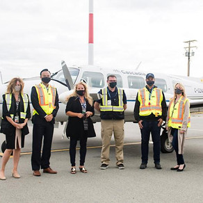 Penticton Herald - New airline planning service to Penticton