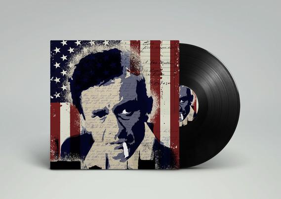 Man in Black Vinyl